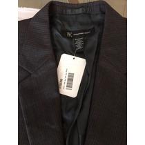 Saco Inc, Gris 42s Slim Fit, Nuevo Con Etiquetas, 5 Bolsas