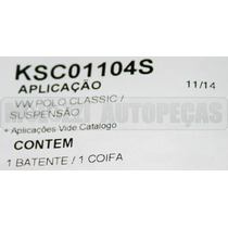 Kit Amortecedor Vw Polo Classic 97/ - Dianteiro