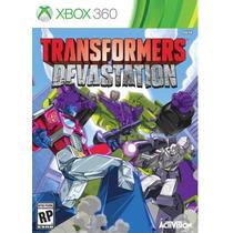 Jogo Novo Lacrado Transformers Devastation Xbox 360 + Nf-e