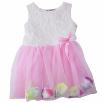 Vestidos De Bebé Nena Niña Importados Verano Fiesta Bautismo