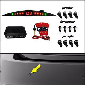 Sensor De Estacionamento Grand Siena Modelo Oem Prata