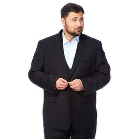 Terno Slim Masculino Plus Size ( Tamanho Grande ) + Brindes