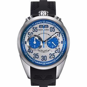 Bomberg 1968 Cronografo Acero Caucho Hombre Ns303 Diego Vez