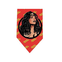 Corbata Wonder Woman - Modelo 2 - Mujer Maravilla