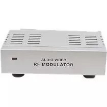 Kit 5 Mini Modulador Conversor De Rca Av Para Rf