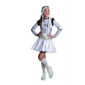 Disfraz Importado Para Niña De Star Wars Stormtrooper