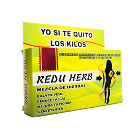 Redu Herb Cápsulas Naturales, Baja Peso Y Talla Sin Rebote