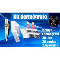 Kit Demografo Pigmentacion Delineado Labios Cejas Permanent