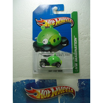 Hot Wheels Angry Birds Minion (puerquito) 1:64 35/247 2012