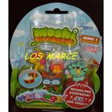 Moshi Monster Moshlings X 4 Figuras + 1 Sorpresa Caballo Ala