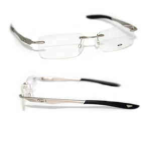 Armação Evade Oakley Óculos De Grau Sem Aro Masculina