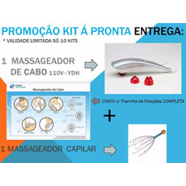 Massageador Fisio Golfinho Cabo Original Ydh 0732 110v