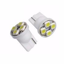 Par Lamp 4 Leds T10 Pejo Pajero Civic Fit Pingo Lanterna