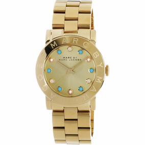 Relógio Marc By Marc Jacobs Mbm3215 Gold Steel Bracelet