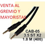 Cable Mini Plug 3,5mm A Mini Plug 3,5mm 1.8 M Precio X Mayor