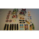 Kit Miniaturas Skates + Bicicletas + Motos + Acessórios -c01