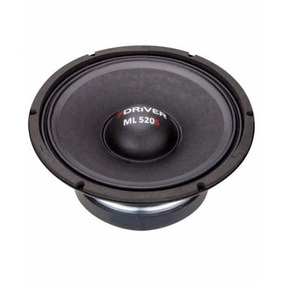 Alto Falante 7drive Audio 10p Ml 520rms 4 Omos Lançamento