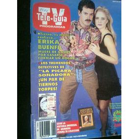 Tele Guia Tv Erika Buenfil Y Antigua Revista Vbf
