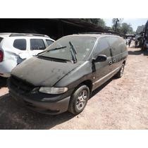 Sucata Chrysler Grand Caravan 3.3 Motor/caixa/lataria Peças