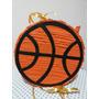 Piñata Pelota De Basquet Artesanal Basket