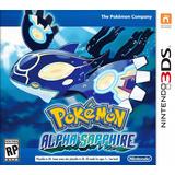 Pokemon Alpha Sapphire 3ds Fisico New Full Gamer