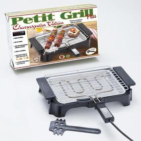 Churrasqueira Elétrica Petit Grill Plus 220v Preto - Heynox
