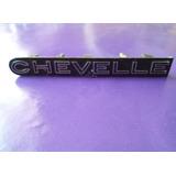 Emblema Chevelle Chevrolet Parrilla Original