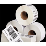 Rollo Etiqueta Para Zebra Termicas 2x1 Pulg (51mmx25m)