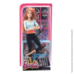 Barbie Articulada Yoga Feita Para Mexer Ruiva Made To Move