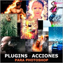Pack 8 Efectos Photoshop Acciones Filtros Plugins Diseño