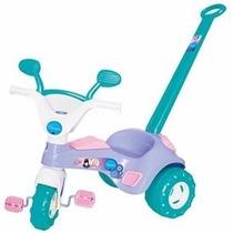 Triciclo Velotrol Infantil Charmosa Som Porta Treco Cotiplás
