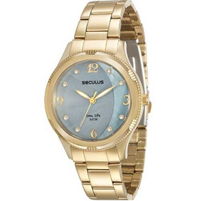 Relógio Seculus Feminino Long Life 23520lpsvda1