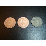 Moneda De Cobre 1 Centavo Años 1937-1943 (mexico)