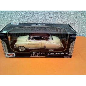 Motormax American Classics Chevy Bel Air 1950 Escala 1/18