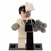 Duas Caras Lego Compatível Dc Minifigure Batman