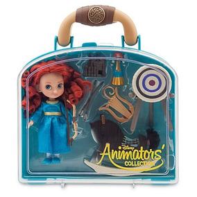 Set Muñeca Animators Mini Merida Valiente Disney Store 2016