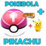 Pokémon Pokebola Aliança Love Ball Poke Ball + Pikachu