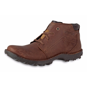 Botas Caterpillar Transform Cafe Piel Caballero Original