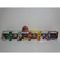 Marvel Mighty Muggs Avengers Iron Man Hulk Thor Comic Con