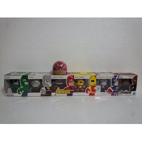 Marvel Mighty Muggs Avengers Iron Man Hulk Thor Comic Con Cl