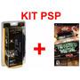 Kit Original Sony Para Psp Com Estojo + Jogo Twisted Metal
