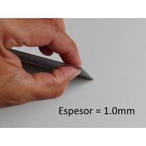 Titanio Puro Lamina Gr2 Espesor 1.0mm, Mide 250mm X 300mm