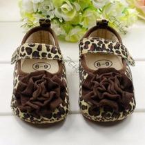 Hermosos Zapatos Para Bebé Diseño Animal Print.