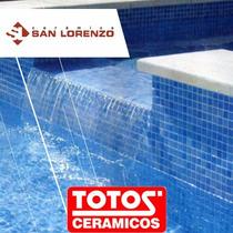 Veneciano Aguamarina Ceramica Pileta 33,5x33,5 1ra Quillmes