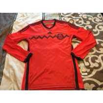 Jersey Selección Mexicana Roja Manga Larga Original