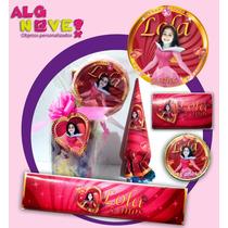 Etiquetas Personalizada Candy Bar Cumple Soy Luna Infantil