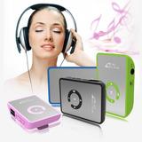 Kit Mini Reproductor Mp3 Tarjeta Sd 8gb + Auriculares