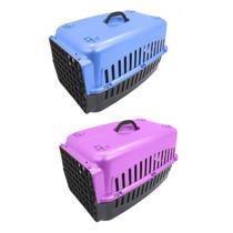 2 Caixas Transportes Para Cães E Gatos Para Viagem N 1