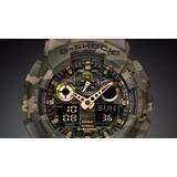 Reloj Casio G-shock Camuflado Ga-100cm-5a Camo Militar 200m