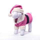 Disfraz Navideño Rosa Para Perros Santa Claus Chico +kota